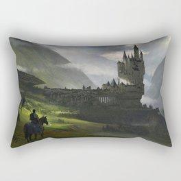Knight return Rectangular Pillow