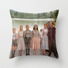 Jack Torrance in The Sound of Music Throw Pillow