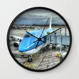 KLM Boeing 747 Wall Clock