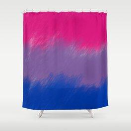 Bi Pride Flag Shower Curtain