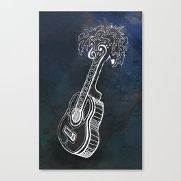 Music is Our Vacation Canvas Print