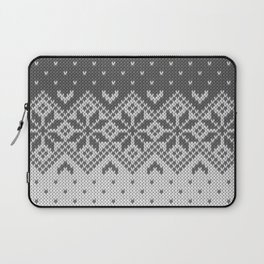 Winter knitted pattern 8 Laptop Sleeve