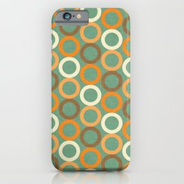 Earth Mod Abstract Hallow  iPhone Case