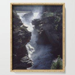 Athabasca Falls 3 Serving Tray