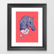 ♞✧ Framed Art Print