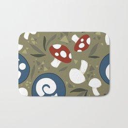 Animal Crossing Summer Pattern Bath Mat