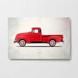 The 3100 Pickup Truck Metal Print
