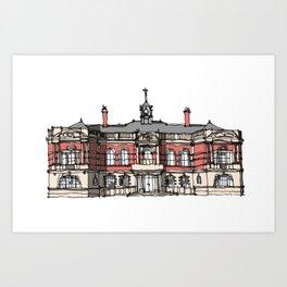 Battersea Arts Center London Art Print
