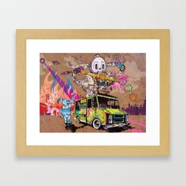 Pusher Carcophagus Framed Art Print