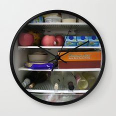Fridge Candies Oct 1   [REFRIGERATOR] [FRIDGE] [WEIRD] [FRESH] Wall Clock