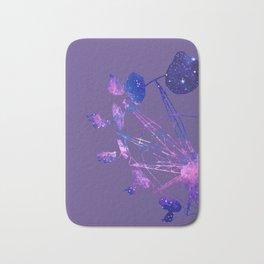 Galaxy Fair Ride. Pantone Color of 2018: Ultra Violet Bath Mat
