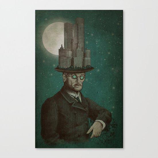 The Architect (colour option) Canvas Print