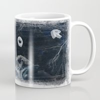 thor Mugs featuring Thor by André Joseph Martin