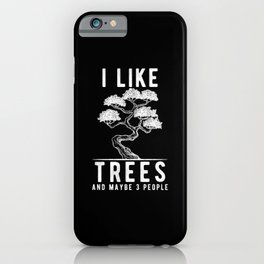 Bonsai Tree Gift iPhone Case