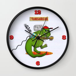 Jurassic Rock Wall Clock