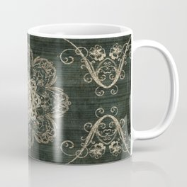 Arabesque Green Coffee Mug