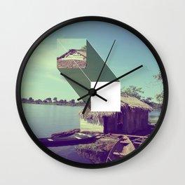 Stitched Amazon Wall Clock