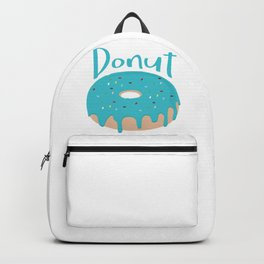 Life is short - Eat more Donuts Backpack