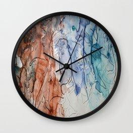 Dissolution Wall Clock