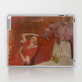 Combing the Hair by Edgar Degas Laptop & iPad Skin