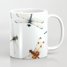 Dragonfly Pattern Coffee Mug