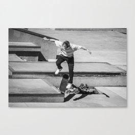 Go Skate Canvas Print