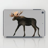 moose iPad Cases featuring Moose by Elise Cayouette
