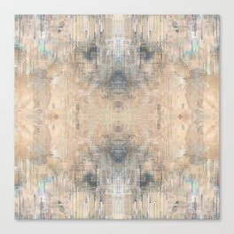 Glitch Vintage Rug Abstract Canvas Print