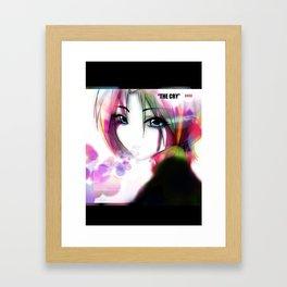 The Cry Framed Art Print