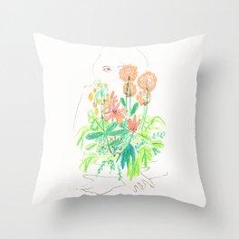Flower flower Throw Pillow