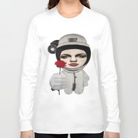 outer space Long Sleeve T-shirts featuring from outer space by beatrice alegiani