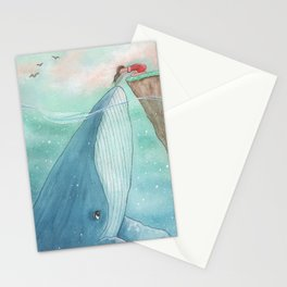 You were my first love Stationery Cards