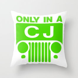 Only One CJ Throw Pillow