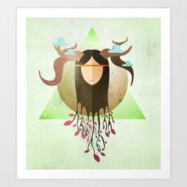 Fortress of Nature Art Print