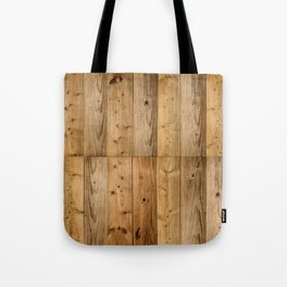 Wood 6 Tote Bag