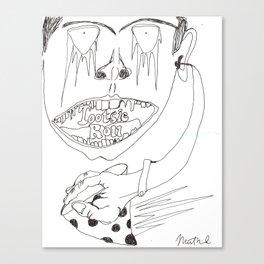 Tootsie Roll Canvas Print