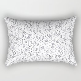 Infinite neighborhood Rectangular Pillow