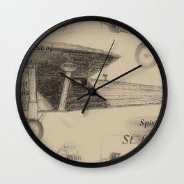 Spirit of St. Louis, 1927 Wall Clock