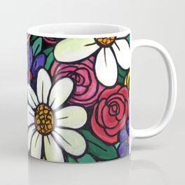 Pitcher of Flowers Coffee Mug