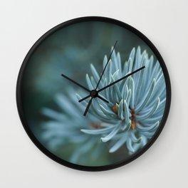 Blue spruce Wall Clock