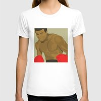 ali gulec T-shirts featuring Cool image of a boxer by drawgood