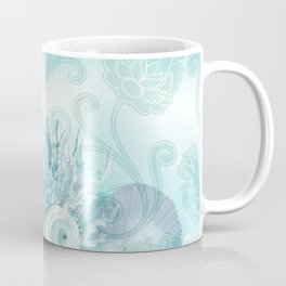 SEASHELL DREAMS | blue Coffee Mug