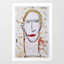 Narcissistic bandage Art Print