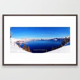 Crater Lake National Park  Framed Art Print