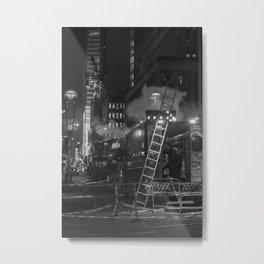 Maintenance the Street, A Metal Print