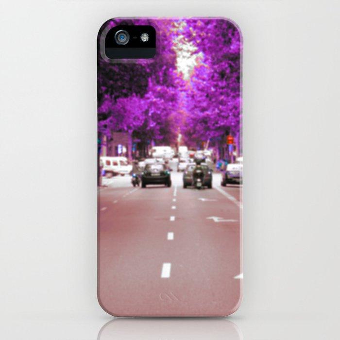 Con el cristal con que se mira iPhone Case