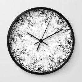 Synesthesia: Bad at Love (Halsey) Wall Clock