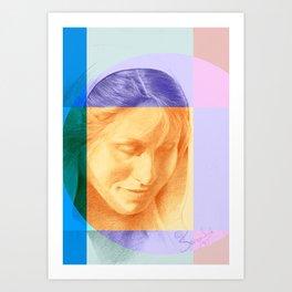 Margriet 01 Art Print