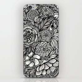 Peony Fascination iPhone Skin