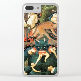 The demon that eats people Clear iPhone Case